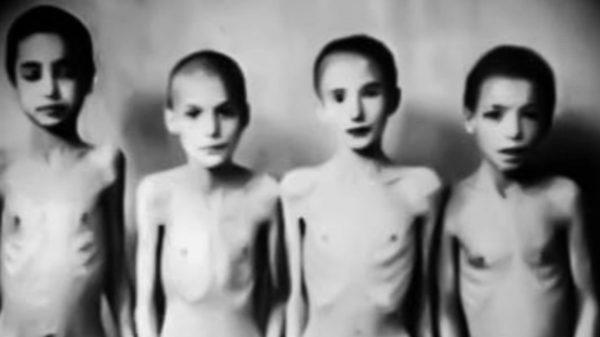 Дети узники концлагеря