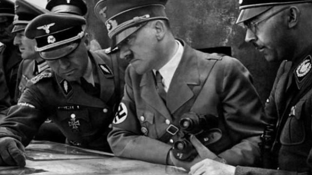 Обсуждение плана Ост Г. Гиммлером и А. Гитлером