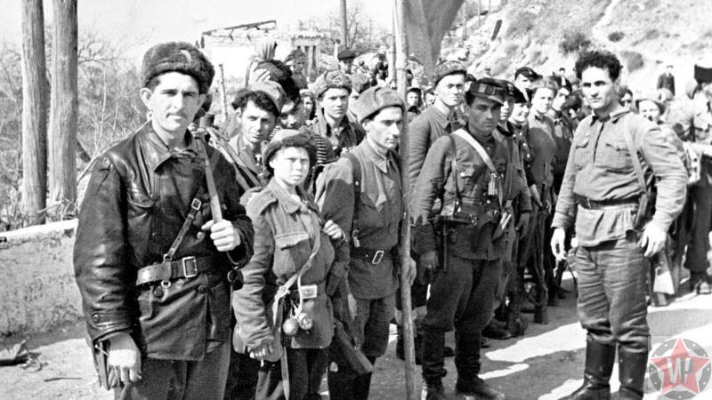 Партизаны Крыма, фото 1944 год