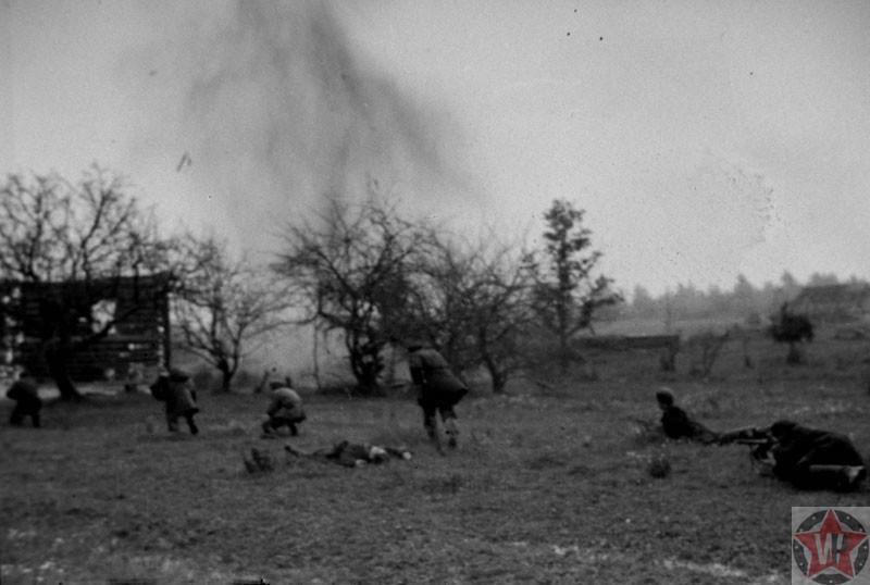 Боевые действия отряда Сопротивления под деревней Сертолово, Ленинградская область 1942 год
