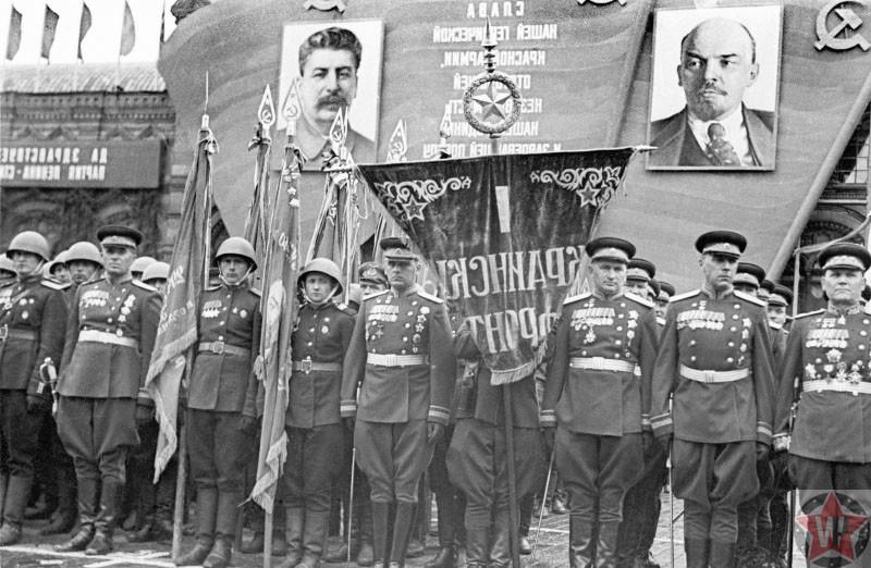 Празднование Дня Победы, 1945 год
