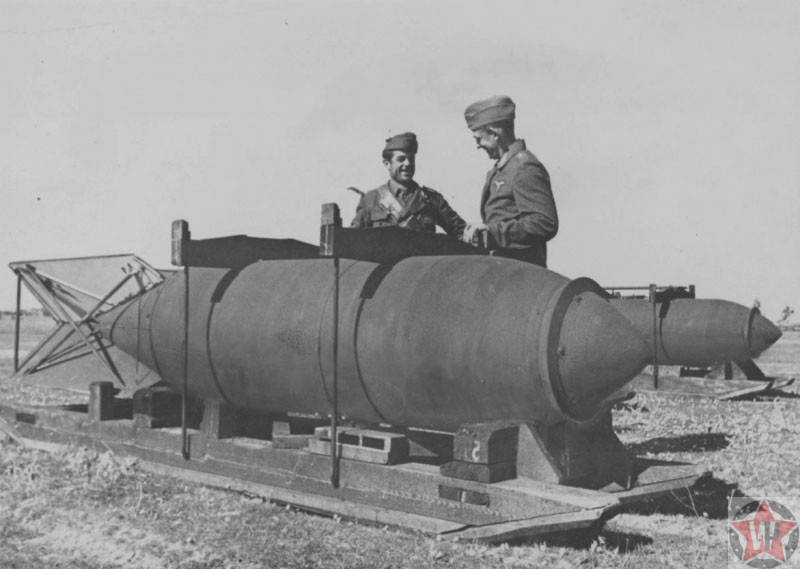 1800-кг немецкая авиабомба SC 1800
