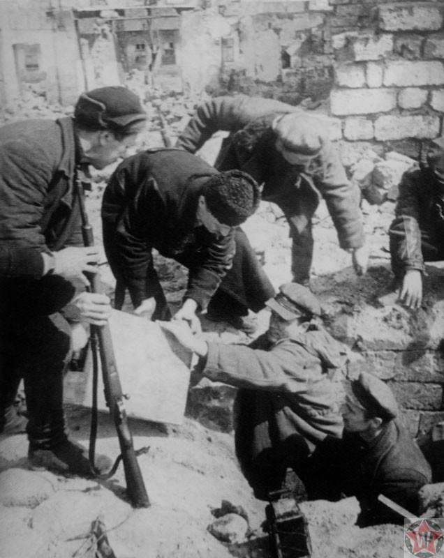Партизаны Одессы, 1944 год