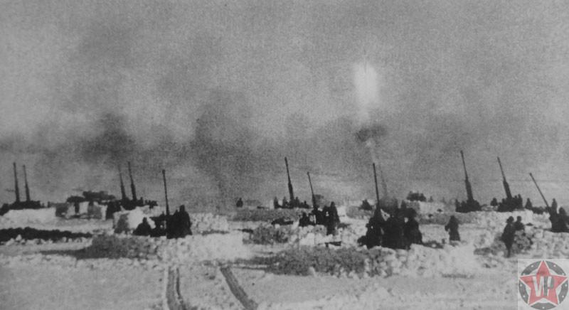 Огонь по немецкой авиации под Сталинградом