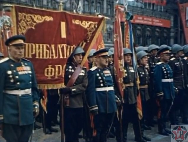 1й Прибалтийский Фронт, Парад Победы 1945 год