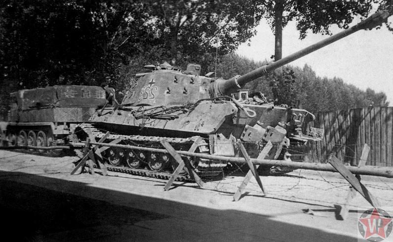 Немецкий танк «Королевский тигр»