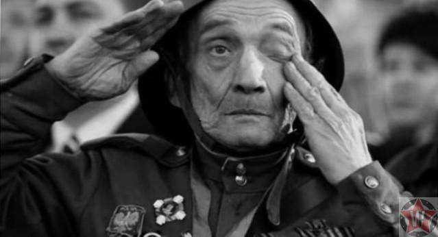 Герой Великой Отечественной войны 9 Мая во время шествия Бессмертного полка