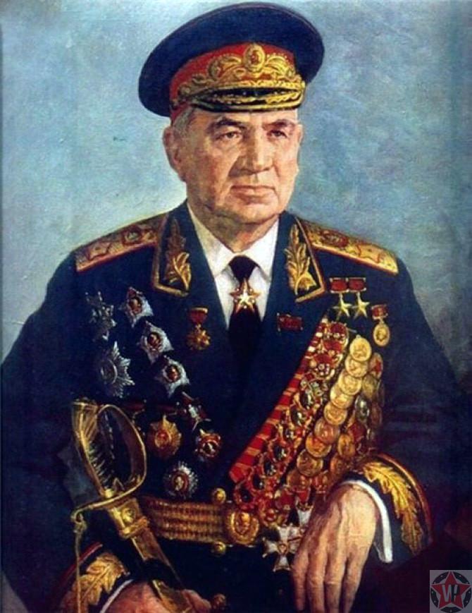 Советский военачальник Чуйков Василий Иванович