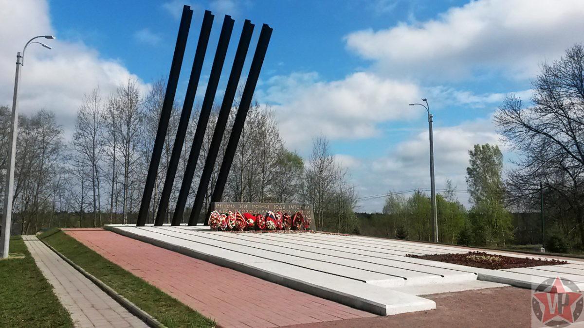 """Памятник """"Катюша"""" на """"Дороге жизни"""""""