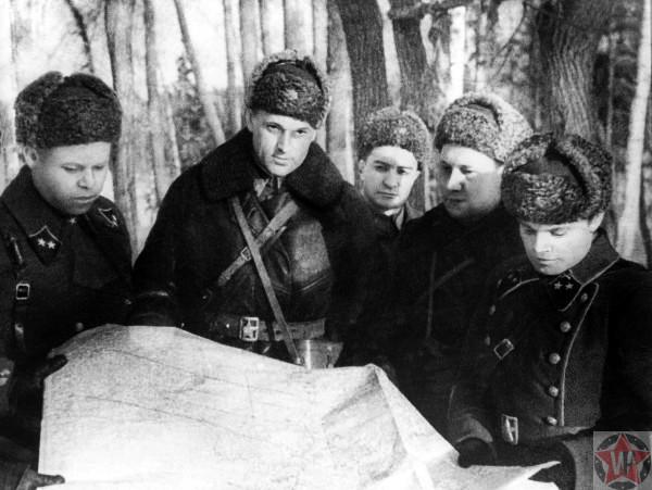 Рокоссовский в битве за Москву