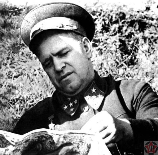 Жуков на Сталинградской битве