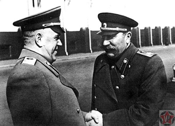 Сталин и Жуков