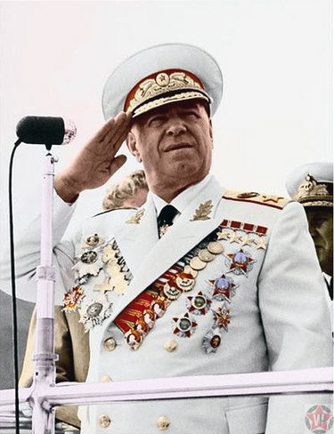 Маршал-победитель Георгий Константинович Жуков