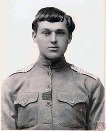 Младший унтер-офицер Константин Рокоссовский в 1917 году
