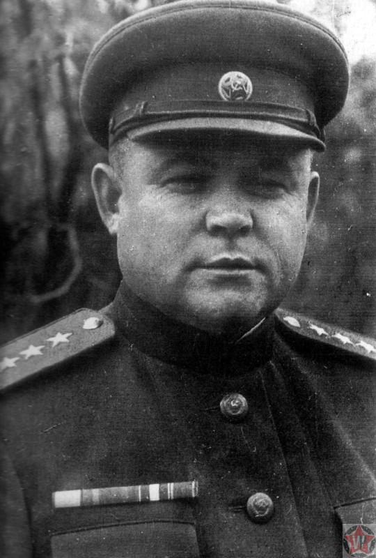 Генерал армии Н.Ф. Ватутин, в 1943 году