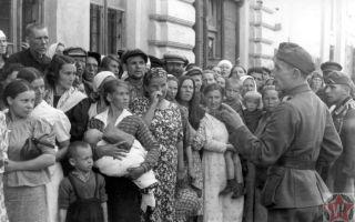 Оккупационный режим во время Второй мировой войны войсками Третьего Рейха