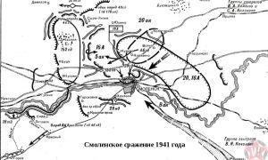 Смоленское сражение 1941: начальный этап войны