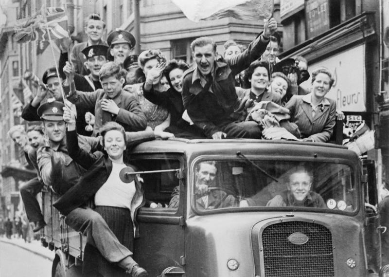 День Победы в Лондоне, 1945 год