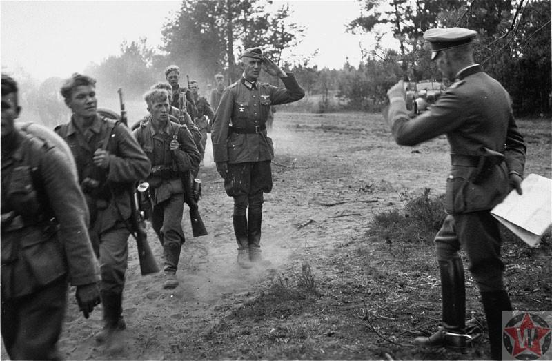 Солдаты вермахта во время операции «Барбаросса», 1941 год.