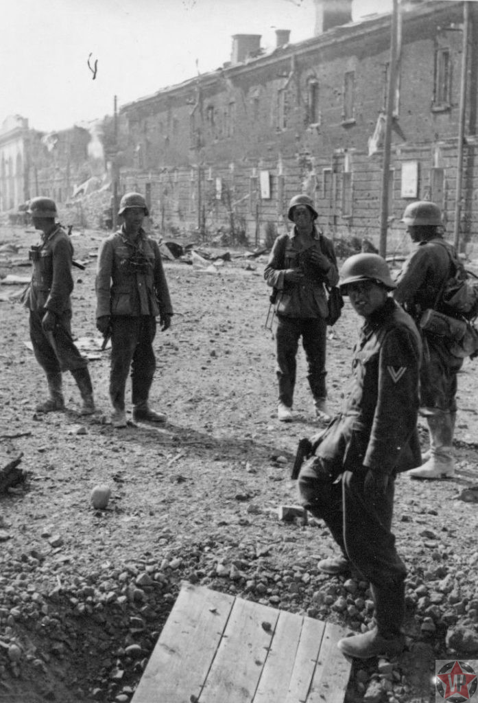 Фотографии вермахта в брестской крепости