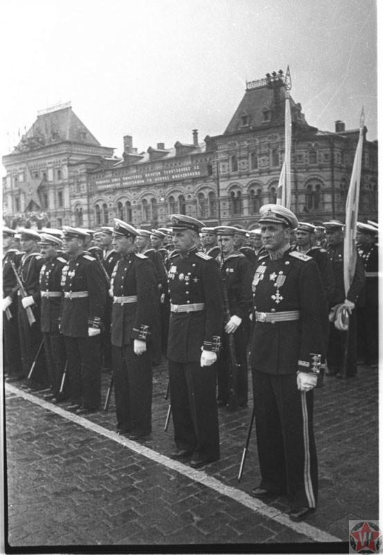 Моряки Северного, Балтийского, Черноморского флотов
