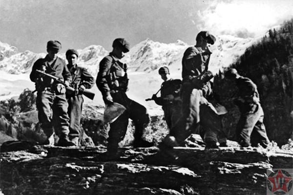 Солдаты Северо-Кавказского фронта