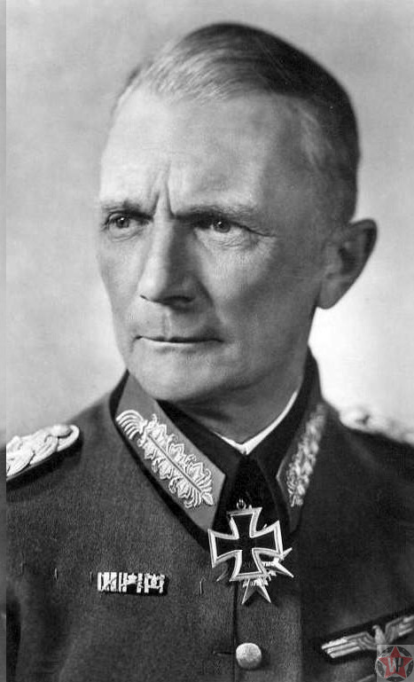 Генерал-фельдмаршал Ф. Бок