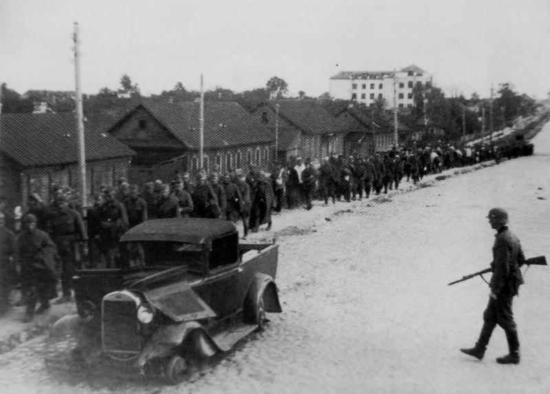 Советские военнопленные, Минск 1941 год