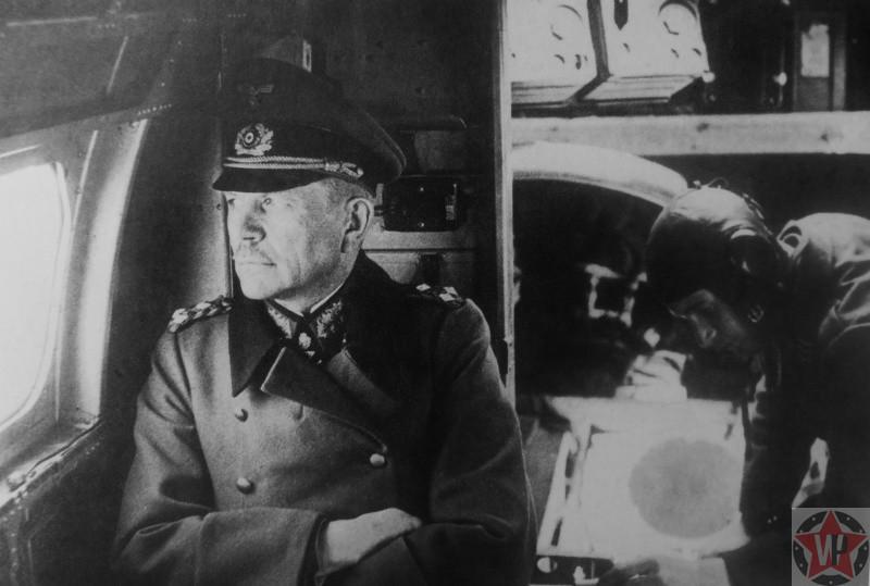Немецкий генерал-полковник Гейнц Гудериан