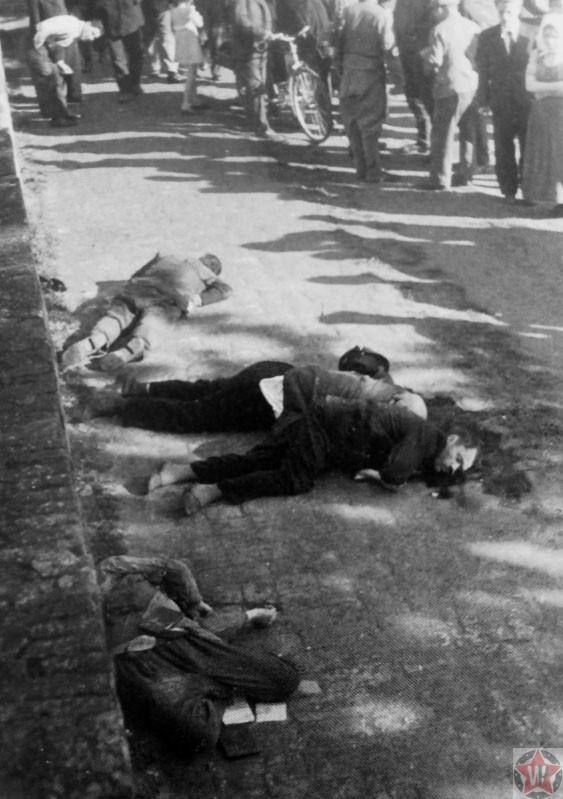 Расстрел мирных жителей немецкими оккупационными властями