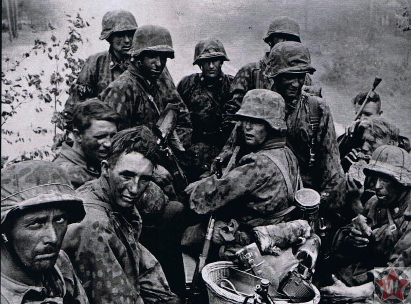 Танковая дивизия вермахта «Мертвая голова» во время Курской битвы