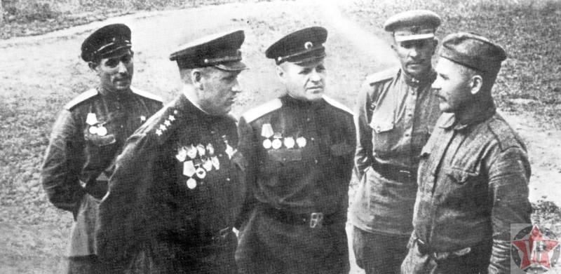 Генерал-майор К. К. Рокоссовский