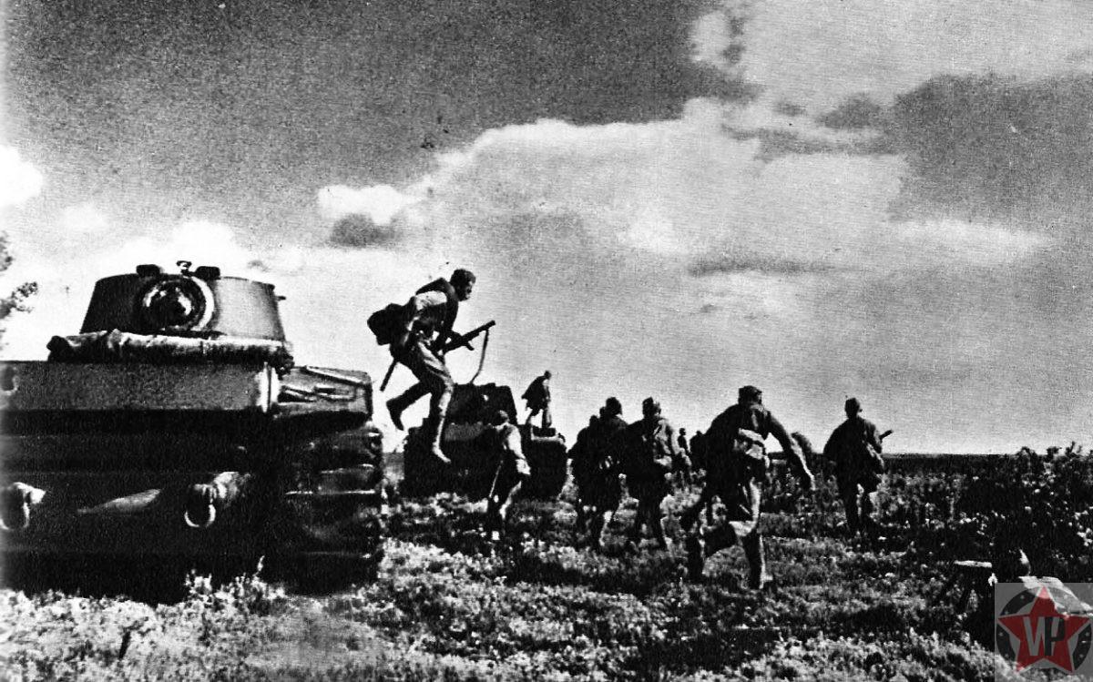 Солдаты Красной Армии попали в окружение