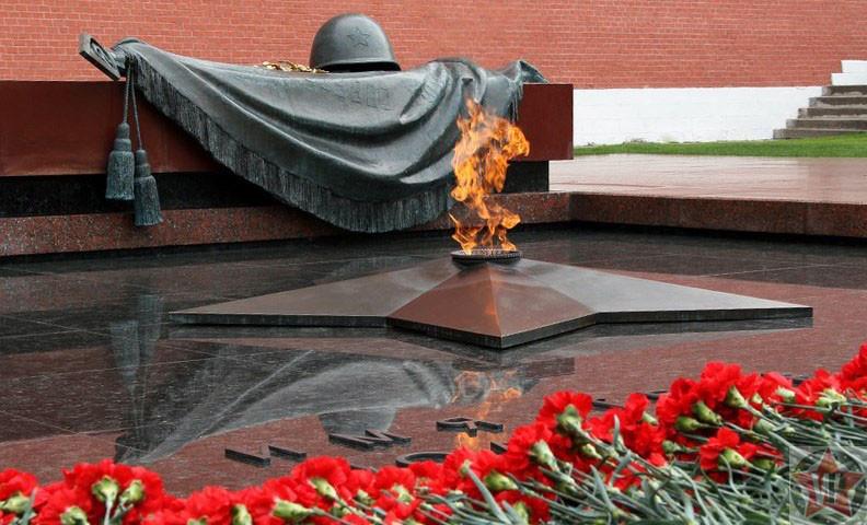 Могила Неизвестного Солдата. Вечный Огонь в Москве