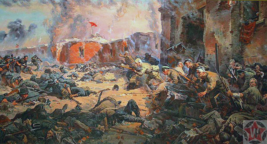 Петр Кривоногов «Защитники Брестской крепости»