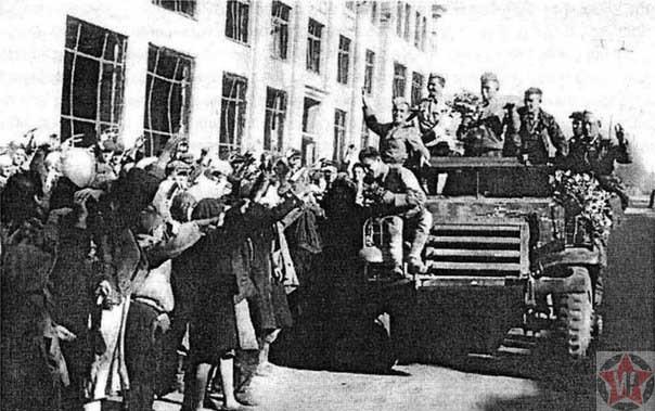 Освобождение города Сталино 1943 год