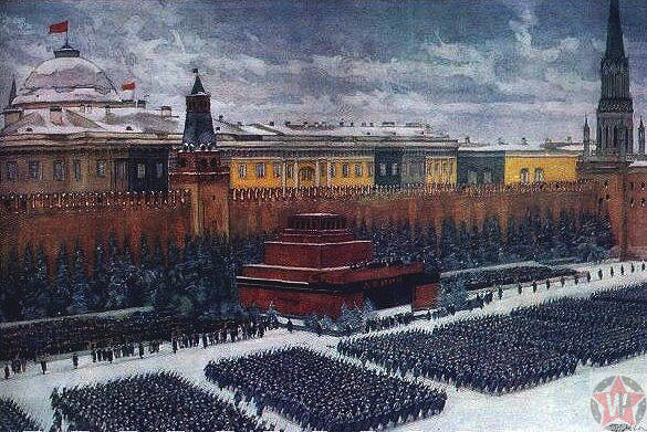 Парад на Красной площади 7 ноября 1941 - К. Юон
