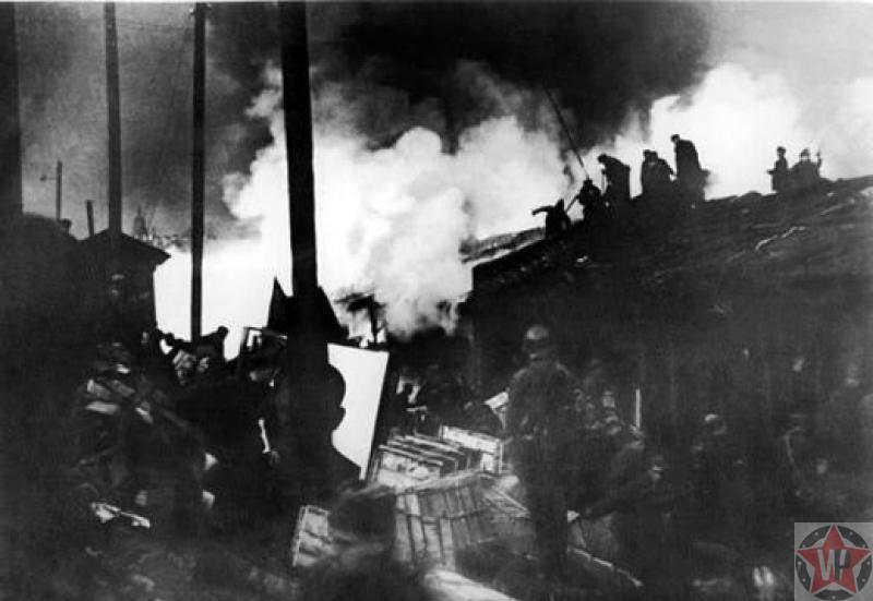 Пожар на Бадаевских складах