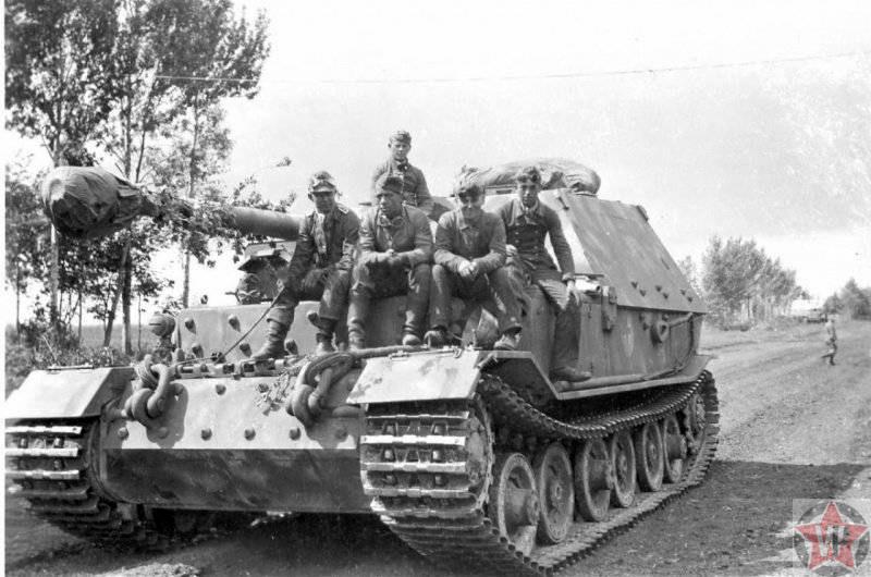 «Фердинанд» – тяжелая самоходная противотанковая установка (ПТ-САУ)