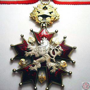 Большой крест ордена Белого льва от Чехословакии
