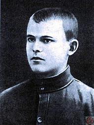 Николай Ватутин в 1917 году